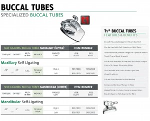 bucal tubes